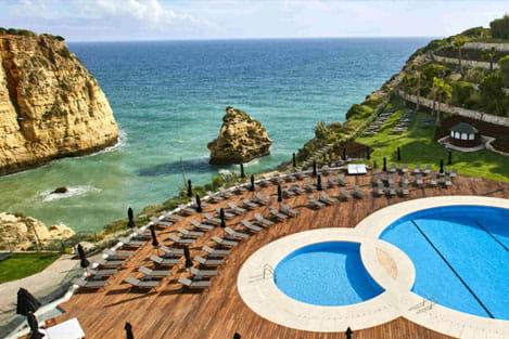 Carvoeiro Hotel in the Beach- perfectalgarvetransfers.com - Perfect Algarve Transfers