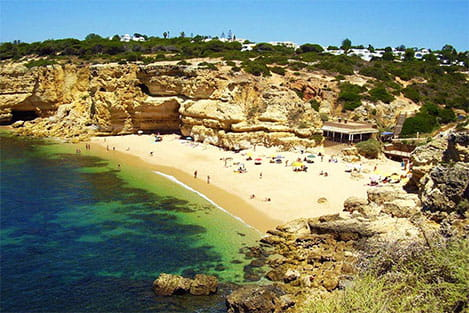 Praia da Coelha Coelha Beach- perfectalgarvetransfers.com - Perfect Algarve Transfers