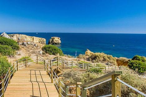 São Rafael Beach Stair - perfectalgarvetransfers.com - Perfect Algarve Transfers