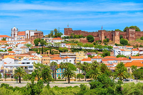 Silves Castle View - perfectalgarvetransfers.com - Perfect Algarve Transfers